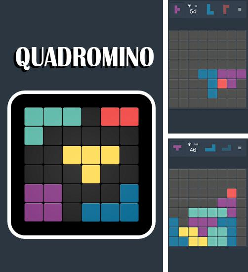 In addition to the game T.H.I.S. for Android phones and tablets, you can also download Quadromino: No rush puzzle for free.