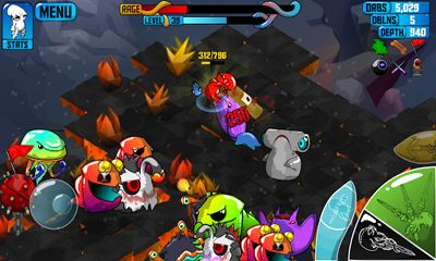 Download Quadropus Rampage Android free game.