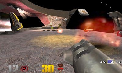 Screenshots do Quake 3 Arena - Perigoso para tablet e celular Android.