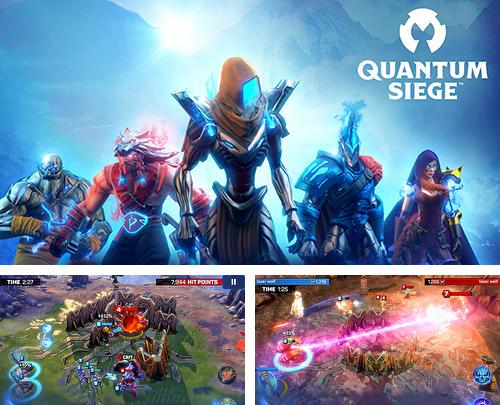 In addition to the game Clone evolution: War of the mutants for Android phones and tablets, you can also download Quantum siege for free.
