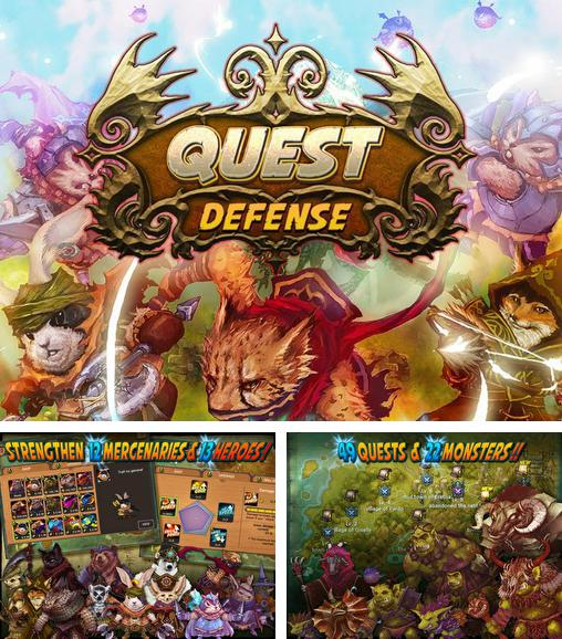 In addition to the game Kingdom Royale for Android phones and tablets, you can also download Quest defense: Tower defense for free.