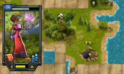Screenshots von Quests & sorсery - Skyfall für Android-Tablet, Smartphone.