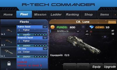 R-Tech Commander Galaxy screenshot 1