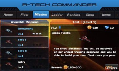R-Tech Commander Galaxy screenshot 2