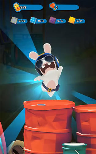 Rabbids: Crazy rush screenshot 1