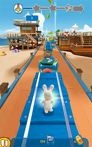 Rabbids: Crazy rush screenshot 2