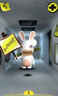 Screenshots of the Rabbids Go Phone Again HD for Android tablet, phone.