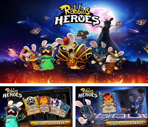 In addition to the game Rabbids Go Phone Again HD for Android phones and tablets, you can also download Rabbids heroes for free.