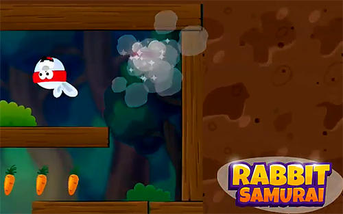 Rabbit samurai: Rope swing hero