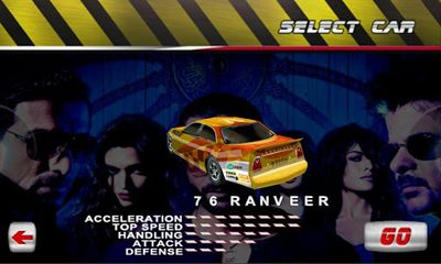 Screenshots of the Race 2 for Android tablet, phone.