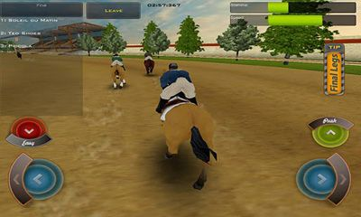 Screenshots von Race Horses Champions für Android-Tablet, Smartphone.