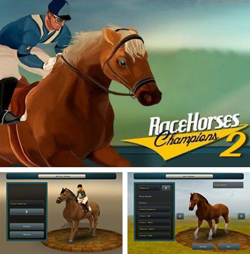 In addition to the game Photo finish: Horse racing for Android phones and tablets, you can also download Race horses champions 2 for free.