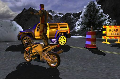 Race stunt fight 3! screenshot 1