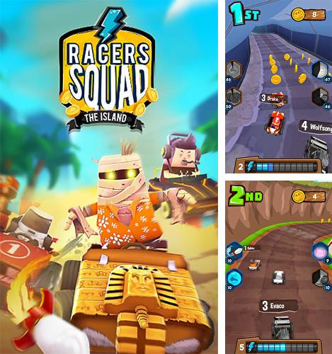 In addition to the game Head ball 2 for Android phones and tablets, you can also download Racers squad for free.