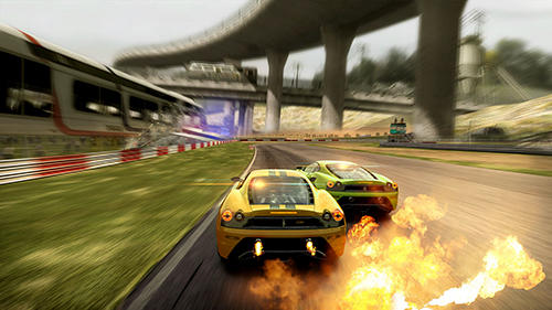 Screenshots von Racing fever 3D: Speed für Android-Tablet, Smartphone.