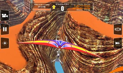 Screenshots of the Racing Glider for Android tablet, phone.