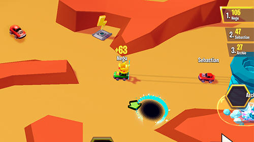 Racing heroes screenshot 1