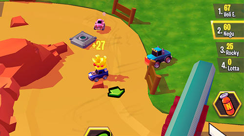 Racing heroes screenshot 3