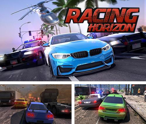 Zusätzlich zum Spiel NASCAR Heat Mobile für Android-Telefone und Tablets können Sie auch kostenlos Racing horizon: Unlimited race, Racing Horizon: Ultimatives Rennen herunterladen.