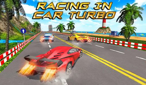 Racing in car turbo обложка