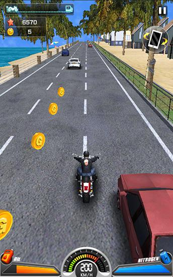 Racing moto by Smoote mobile скриншот 2