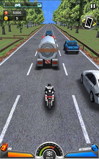 Screenshots von Racing moto by Smoote mobile für Android-Tablet, Smartphone.
