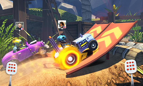 Racing rocket screenshot 2