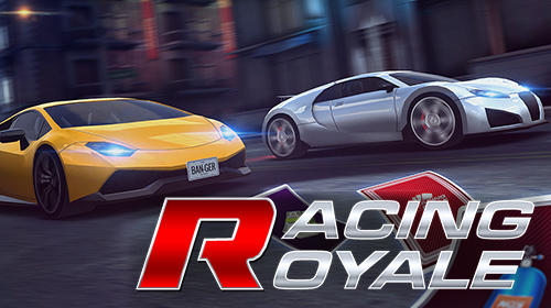 Racing royale: Drag racing poster