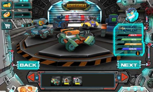 Racing tank screenshot 1