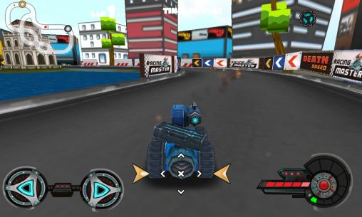 Racing tank screenshot 2