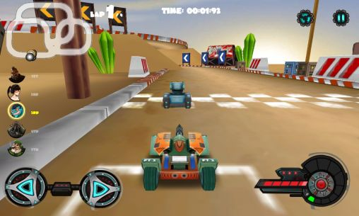 Screenshots von Racing tank für Android-Tablet, Smartphone.