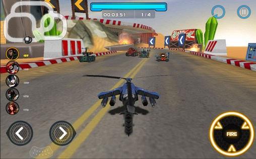 Racing tank 2 screenshot 1
