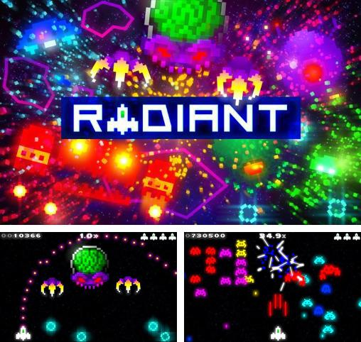In addition to the game Robotek for Android phones and tablets, you can also download Radiant for free.