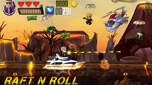 Screenshots von Raft n roll für Android-Tablet, Smartphone.