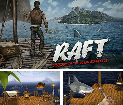 In addition to the game Old west: Sandboxed western for Android phones and tablets, you can also download Raft survival in the ocean simulator for free.