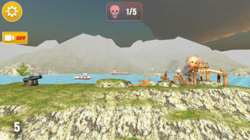 Screenshots do Ragdoll cannon ball - Perigoso para tablet e celular Android.