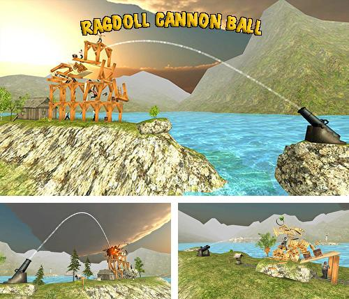 Ragdoll cannon ball