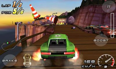 Raging Thunder 2 screenshot 2