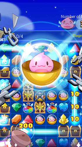 Ragnarok crush: Match 3 puzzle screenshot 1