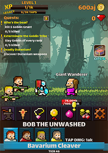 Raid away! RPG idle clicker screenshot 3