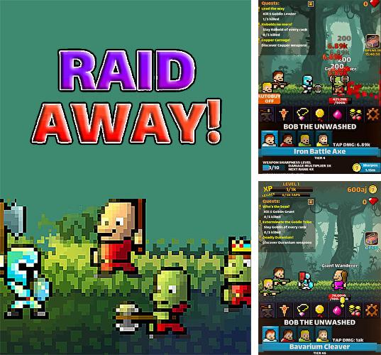 Raid away! RPG idle clicker