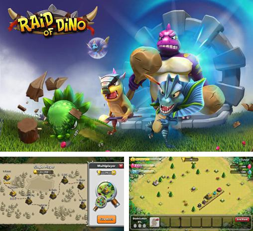 In addition to the game Pharaoh's war for Android phones and tablets, you can also download Raid of dino for free.