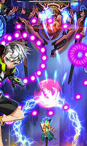 Screenshots von Raiden go: Sky force für Android-Tablet, Smartphone.