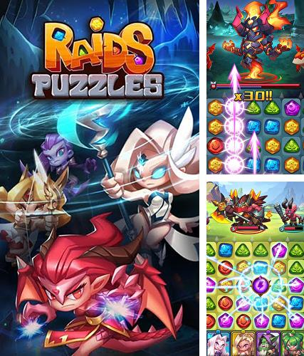 Raids and puzzles: RPG quest