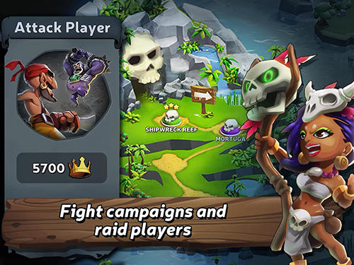 Screenshots von Raids of glory für Android-Tablet, Smartphone.