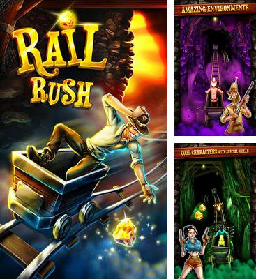 In addition to the game Angry Gran Run for Android phones and tablets, you can also download Rail Rush for free.