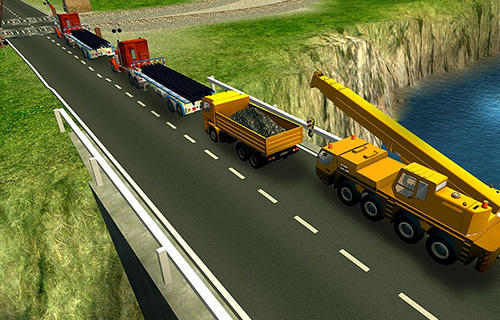 Screenshots von Railroad building simulator: Build railroads! für Android-Tablet, Smartphone.