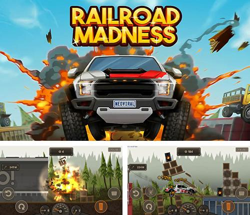 In addition to the game Head ball 2 for Android phones and tablets, you can also download Railroad madness: Extreme destruction racing game for free.