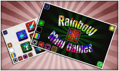Rainbow mini games обложка