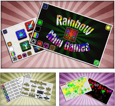 Rainbow mini games